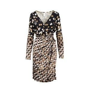 Diane von Furstenberg  Begona Silk Wrap Dress | 10